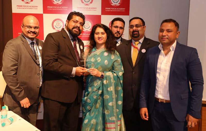 Felicitation by Director Abhishek Malhotra @ PFAMES