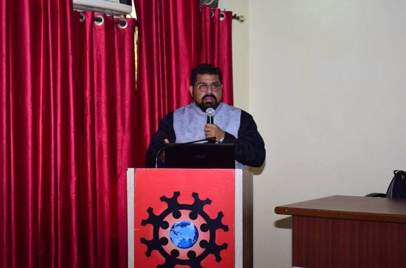 Seminar at Chandigarh University