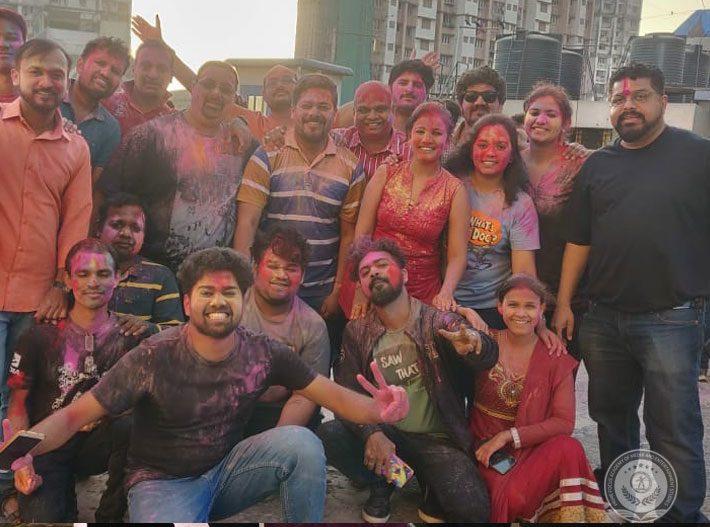 PFAMES Celebrating Holi