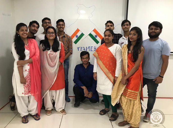 Indore PFAMES Celebrating Independence Day