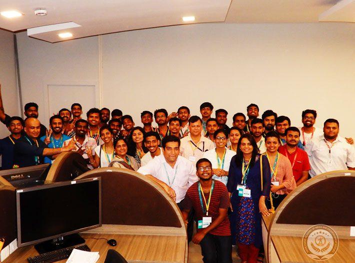 Prime focus arrange indoor workshop